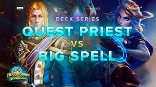 Hearthstone ITA ~ Quest Priest VS Big Spell Mage!   Partita ALLUCINANTE! [Boscotetro]