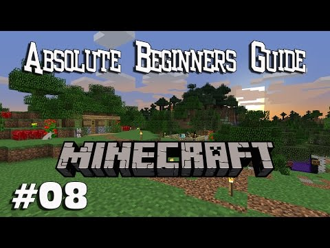Absolute Beginners Guide to Minecraft EP08 - Farming & Animal Husbandry