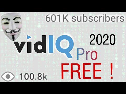 How to get VidIQ Pro for Free 2020 | VidIQ pro crack | Muz21 Tech