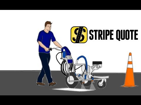 Stripe Quote™ - an Estimating app for Parking Lot Stripers