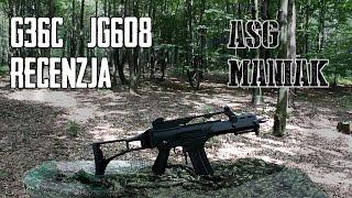 ASG Maniak #27 G36C - JG608 Replika na początek - Recenzja + Test