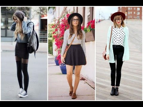 OUTFITS para chicas HIPSTER