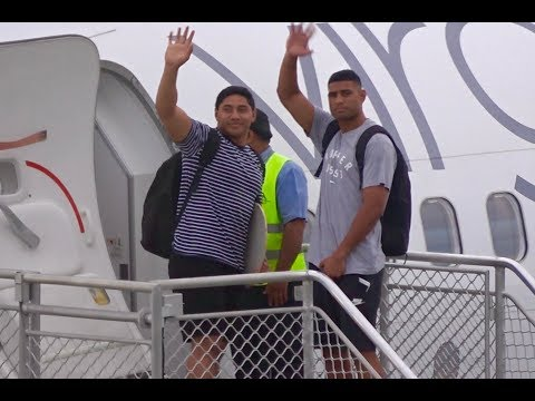 Jason Taumalolo & Daniel Tupou - Mate Ma'a Tonga - Farewell at Fua'amotu Airport