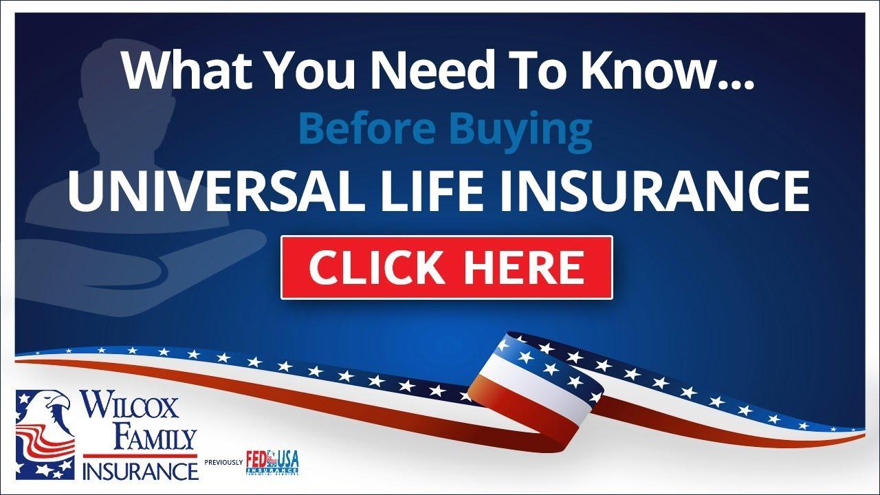 Universal Life Insurance - YouTube