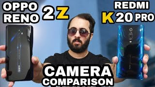 Oppo Reno 2Z vs Redmi K20 Pro Camera Comparison|Oppo Reno 2Z Camera review