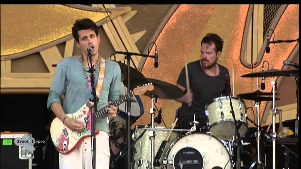 John Mayer Waiting On The World To Change Live Op Pinkpop 2014 Youtube