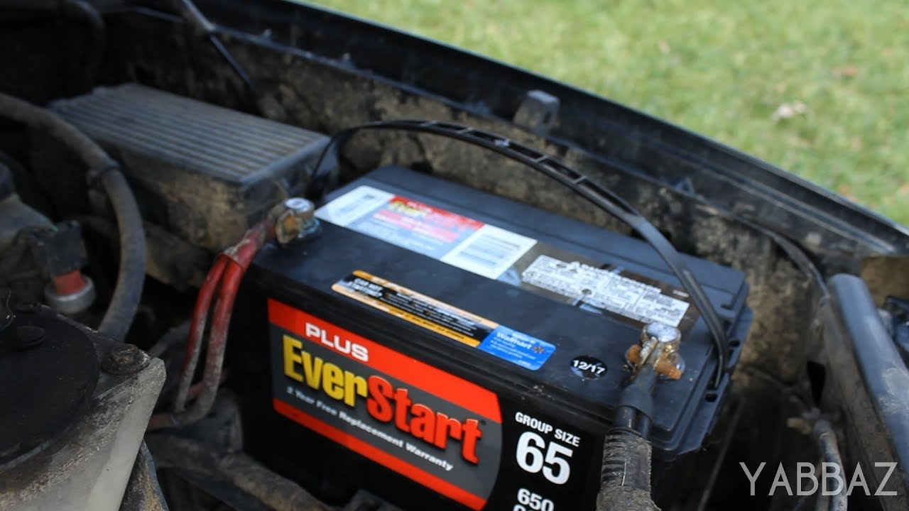 How To Change A Car Battery 2002 Ford Explorer