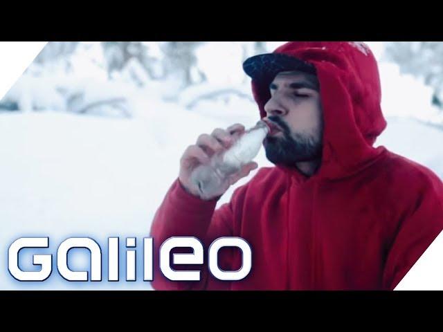 Can you survive? Überleben in der Kälte | Galileo | ProSieben