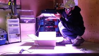 Viparspectra 600w series grow light unboxing