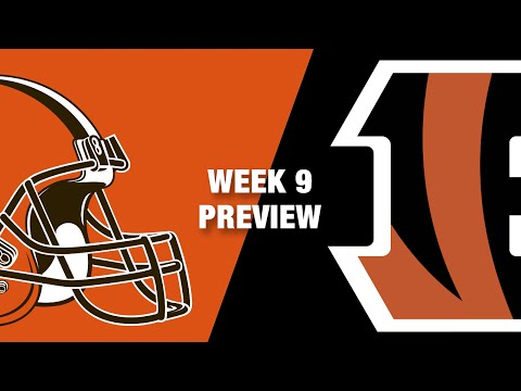 Browns vs. Bengals Preview (Week 9)   Thursday Night Football