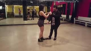 Marietta and Aaron UrbanKiz demo. 2018