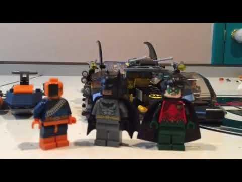 Me Building The Batboat Harbor Pursuit - Time Lapse/Set Review (First video of 2018)