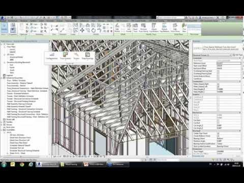 Modeling & Documenting Metal Framing Structures in Revit (All Manufacturers)