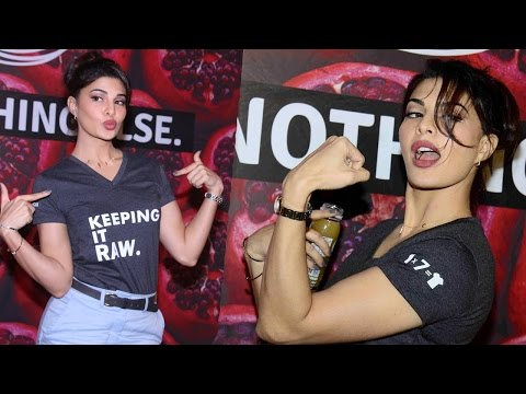 Jacqueline Fernandez Full Speech At RAW Juice Brand Launch