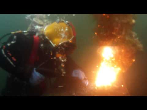 Burning Underwater