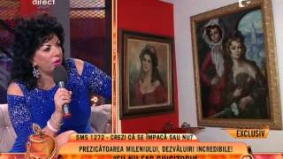 "Carmen Harra @ ""Un show pacatos"" (Antena 1 Romania), 10 septembrie 2013"