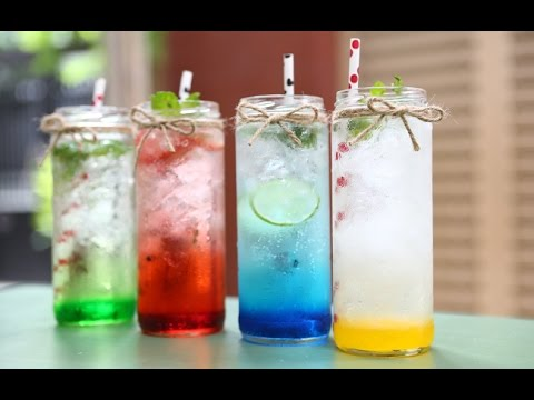 Bài 1 : [Barista Skills] Học cách pha chế Soda Ý tại nhà