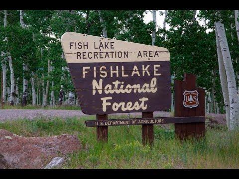 Fishlake Basin On The Fishlake National Forest In Utah