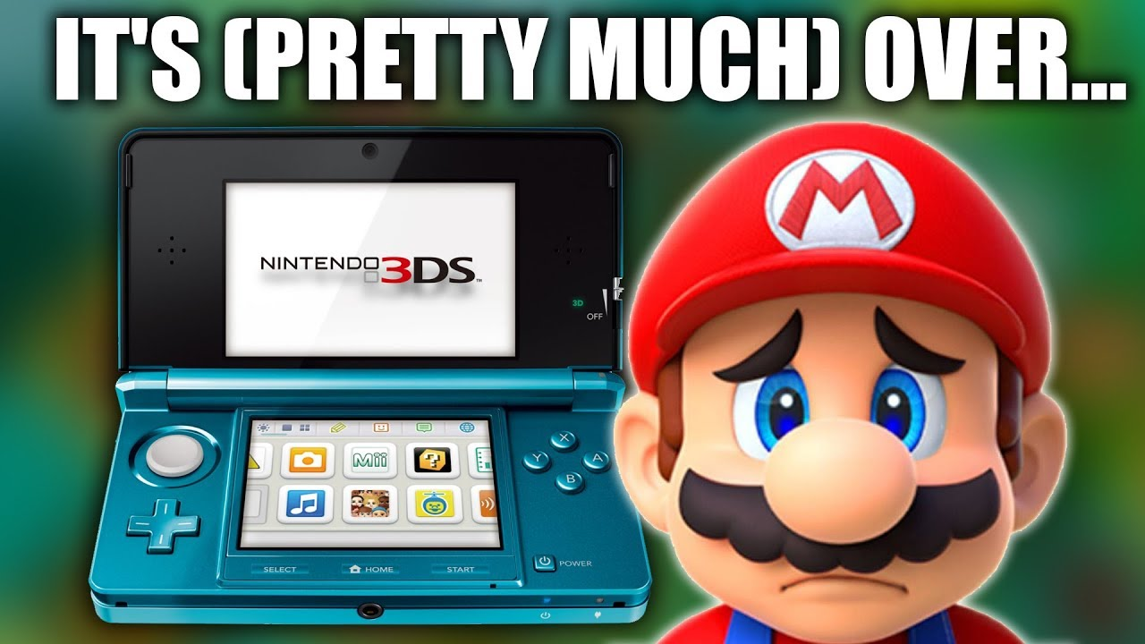 This Is Another HUGE SIGN That Nintendo Is Giving Up On The 3DS