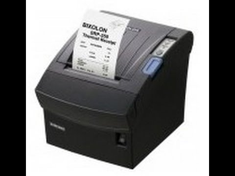 BIXOLON SRP 350II POS PRINTER   YouTube BIXOLON SRP 350II POS PRINTER