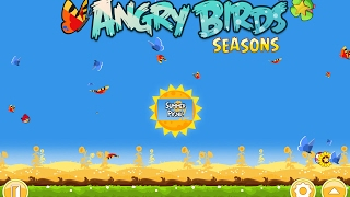 Angry Birds: Seasons. Summer Pignic. (level 1-10) 3 stars Прохождение от SAFa