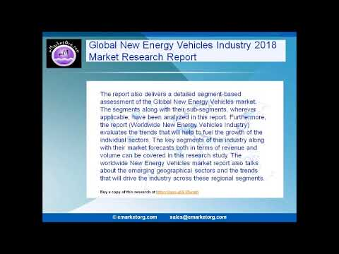 Global New Energy Vehicles Market Research Report 2018