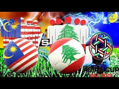 Live Streaming Malaysia Vs Lebanon 13 June 2017 Kelayakan Piala Asia 2019