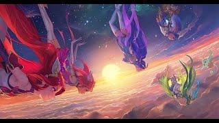 Guardianas estelares Login Screen Animation Theme Intro (