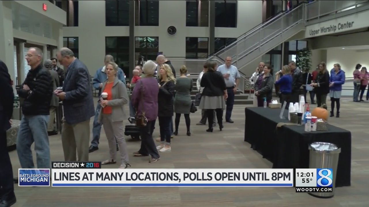 NY early voting: Long lines form at polling sites across New York