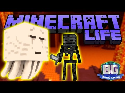 Into The Nether - The Minecraft Life - Bro Gaming