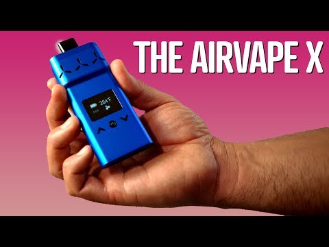 AirVape X Is the Ideal Vaporizer for Busy People