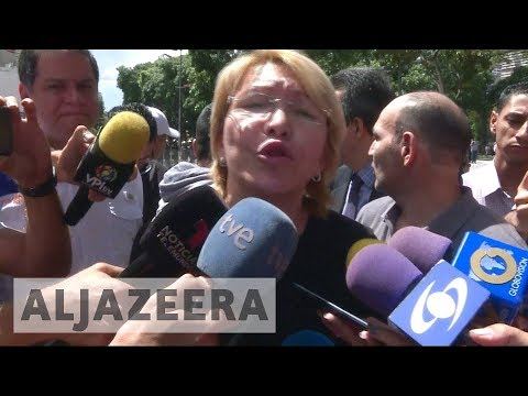 Venezuela's new assembly removes dissident attorney general