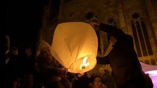 Lâcher de lanternes céleste - Mulhouse 2018