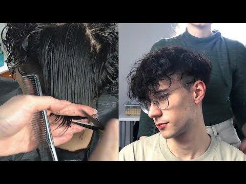 Korean Perm + Haircut (Part II) | Skin Faded Two Block Cut | Men's Hair | Ruben Ramos