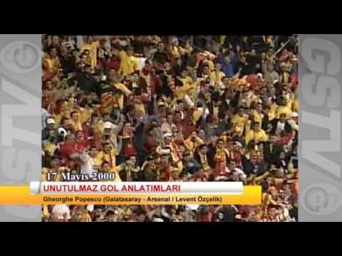 Unutulmaz Galatasaray maçları gol anlatımları