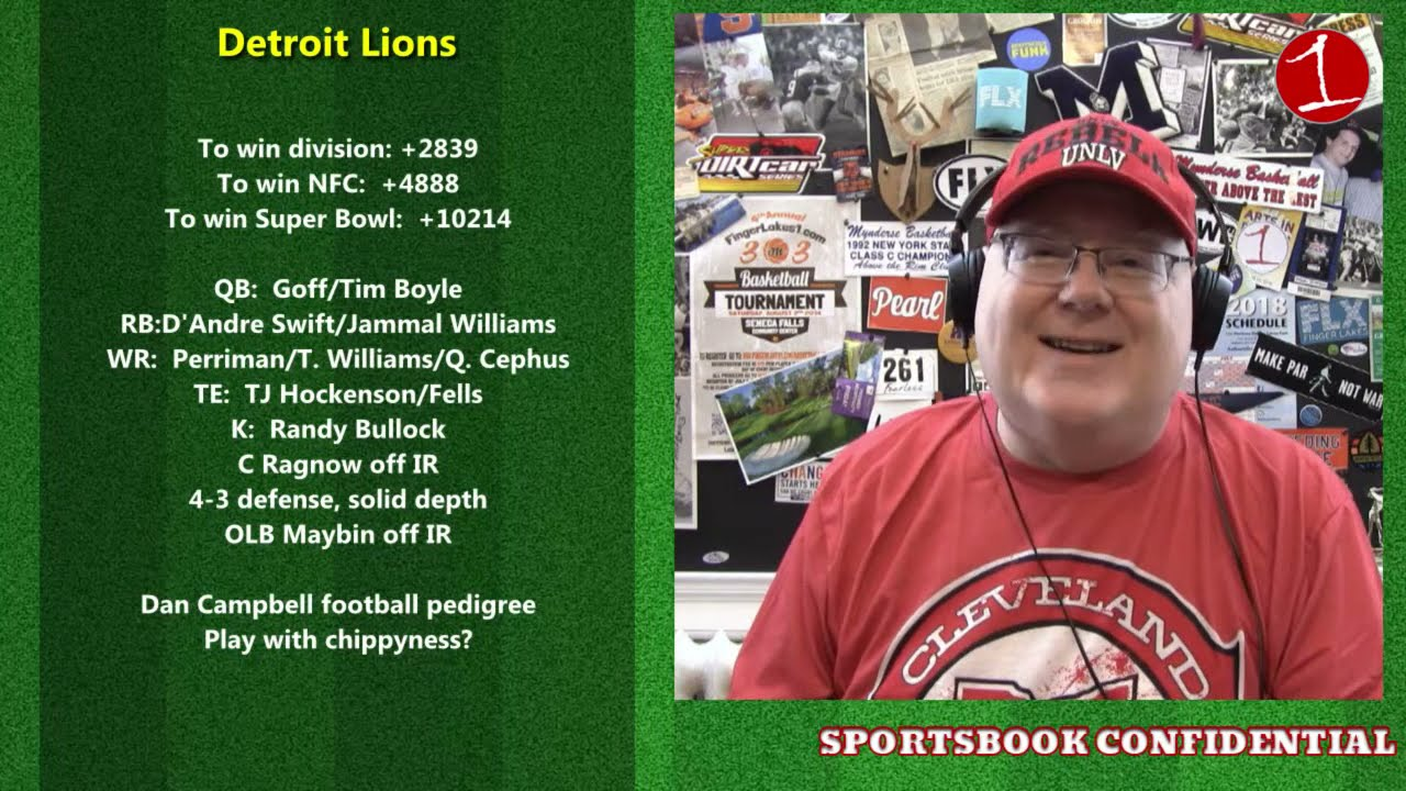 SPORTSBOOK CONFIDENTIAL: NFL 2021 NFC North Preview (podcast)