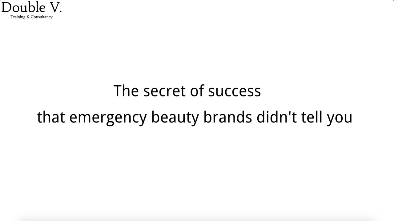 The secret of success that emerging C-Beauty brands didn't tell you