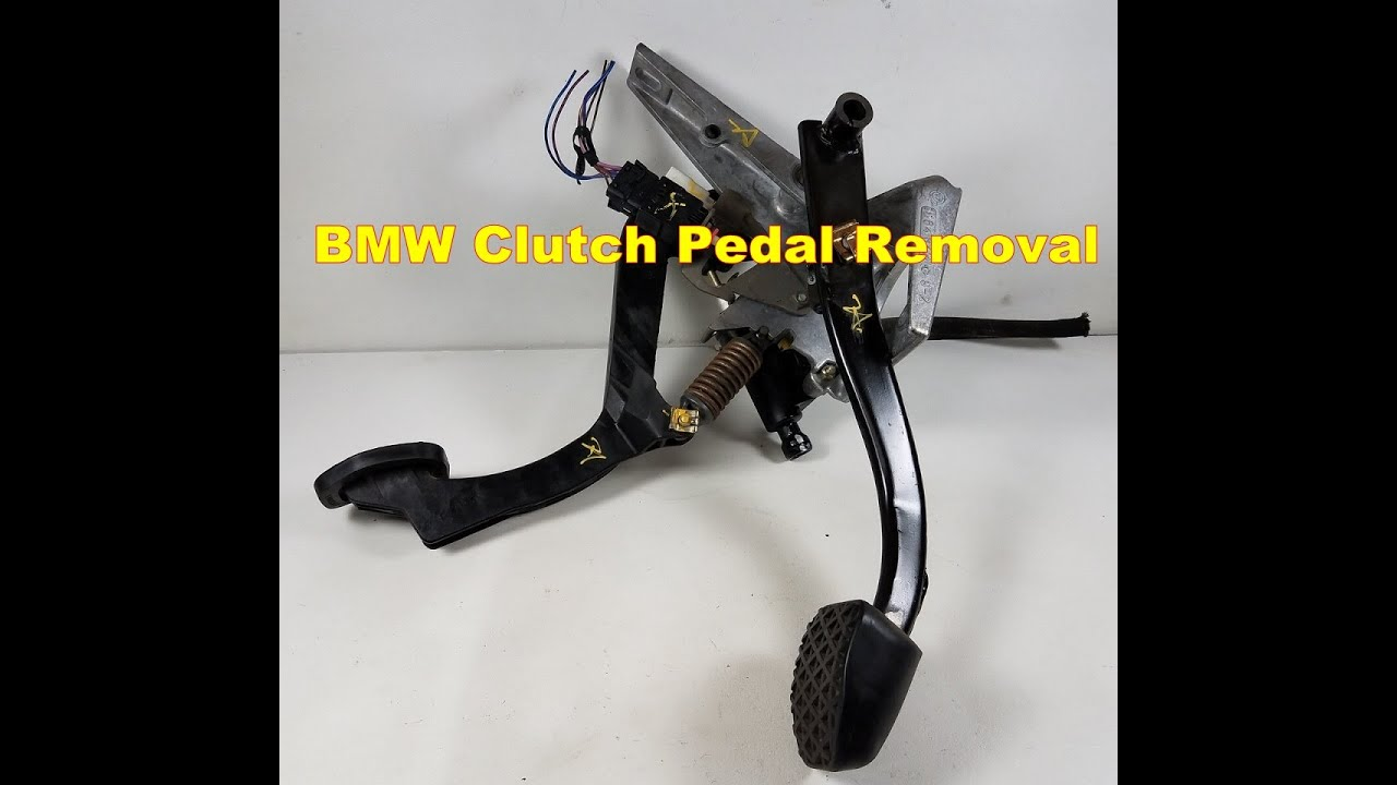 Brake Master Cylinder Clutch Pedal Removal Bmw E36 M3 325