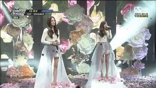 Davichi 다비치 - Cry Again Live (#1 on M!Countdown)