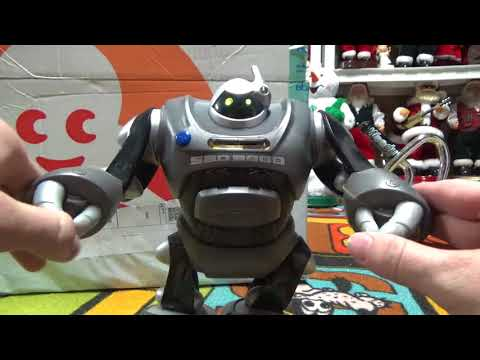 Interactive Animated S.B.D. 3000 Farting Robot Money Coin Bank