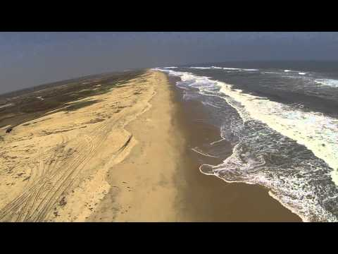 QuestUAV Flying Wing FPV in Mussulo - Angola - Skeye (UK) LTD