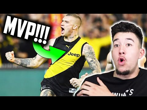 American Reacts to DUSTIN MARTIN Highlights | Richmond Tigers AFL