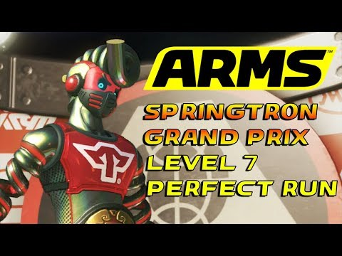 ARMS | Springtron Grand Prix Level 7 [Perfect Run]