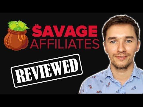 Savage Affiliates by Franklin Hatchett - Honest Review [2018]
