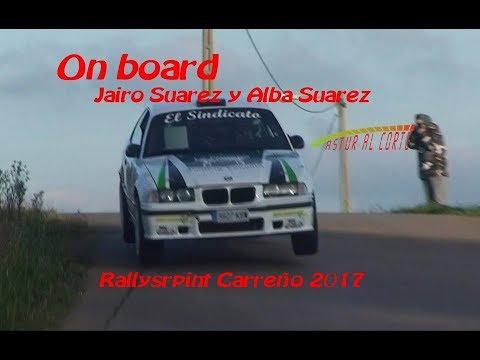 On board Jairo Suarez y Alba Suarez  RS Carreño 2017 #AsturAlCorte