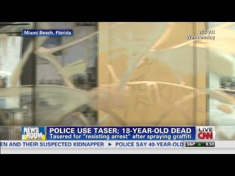 Florida teen dies from police taser