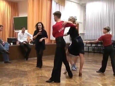 2(ч) Бальные танцы * МАСТЕР КЛАСС * Клуб - Овация.