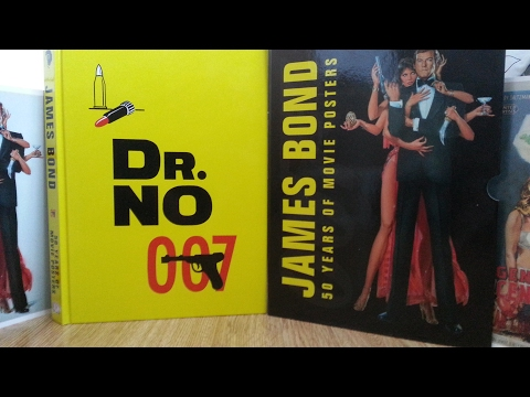 James Bond 50 Years Of Movie Posters Book Review