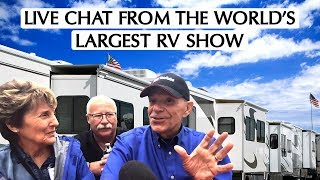 Live! From America's Larget RV Show in Hershey PA