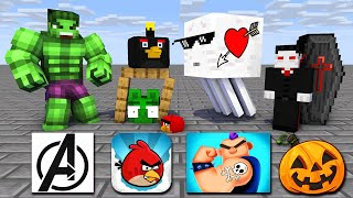 Monster School : SEASON 8 ALL EPISODE - Minecraft Animation